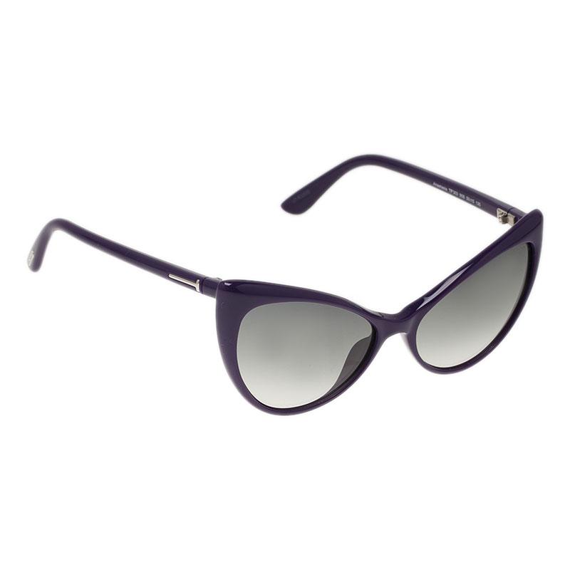 Tom Ford Purple Anastasia Cat Eye Sunglasses
