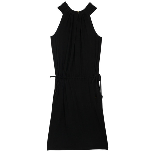 St. John Black Stretch Dress S