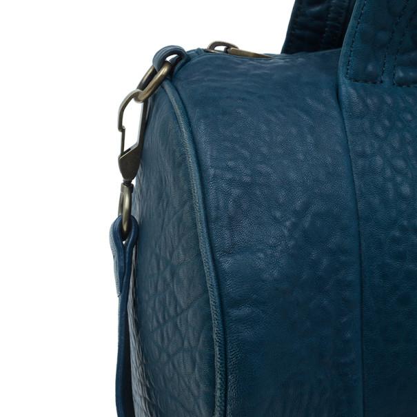 Alexander Wang Blue Lambskin Rocco Duffel Bag