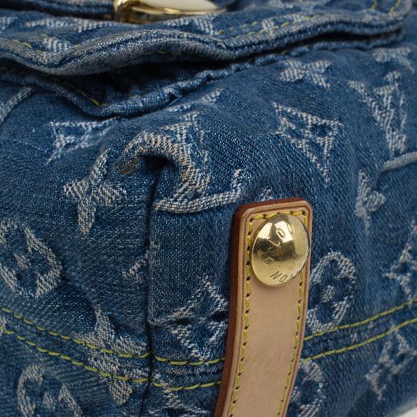 Louis Vuitton Denim Monogram Baggy PM