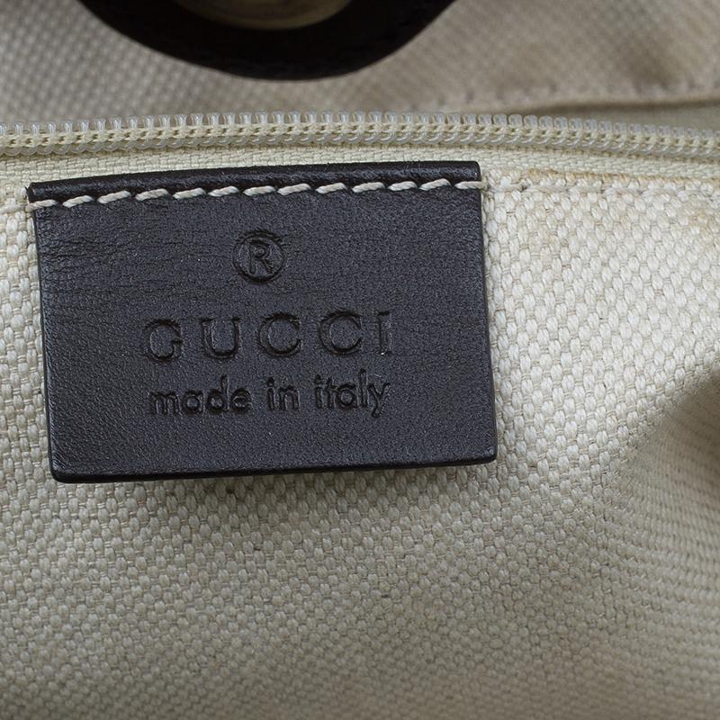 Gucci Beige Monogram Canvas Medium Original Sukey GG Tote