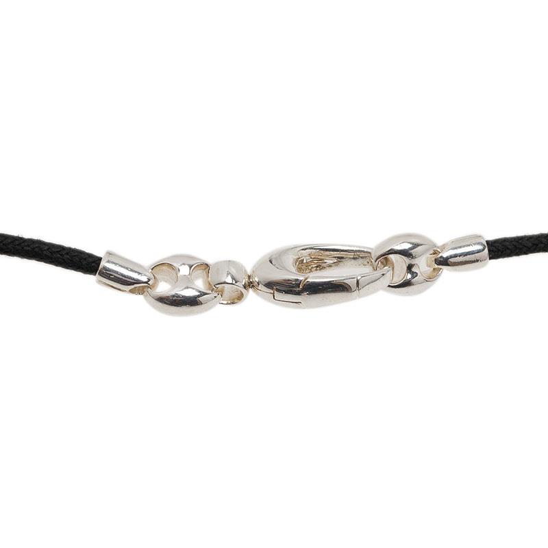 Gucci Silver Pendant Necklace