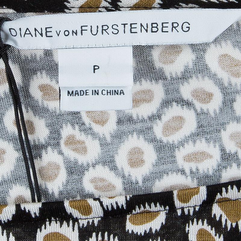 Diane von Furstenberg Sarita Long Sleeve Top S