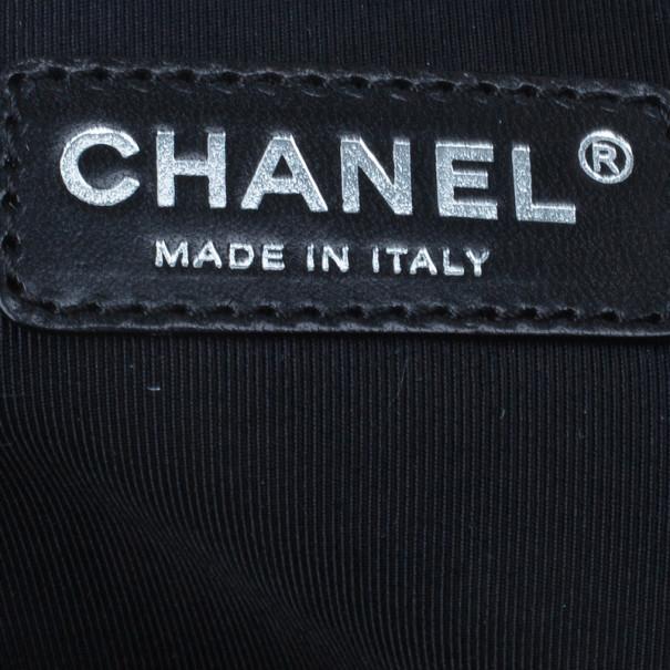 Chanel Black Caviar Grand Shopping Tote