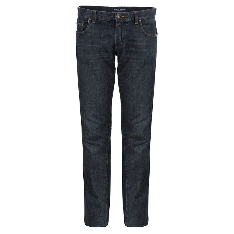 Dolce and Gabbana Men's Grey Denim Jeans S
