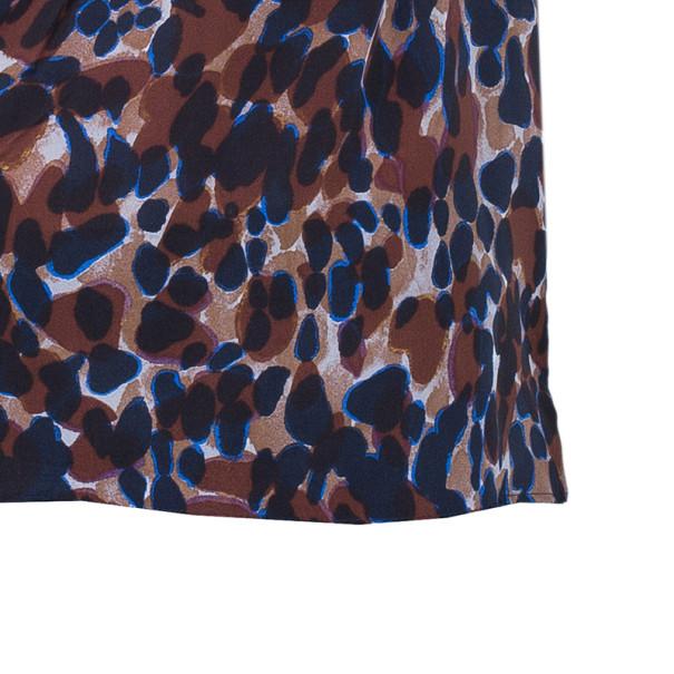 BOSS By Hugo Boss Silk Leopard Print Top S