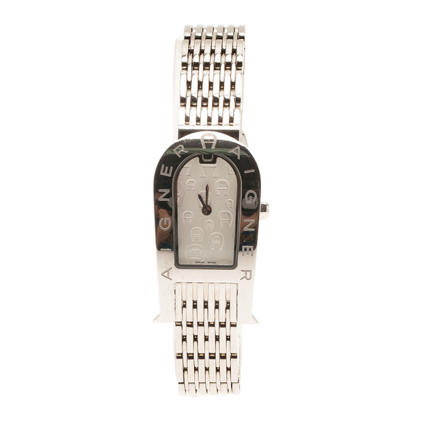 Aigner Mother of Pearl Stainless Steel Olbia Women's Wristwatch 20MM