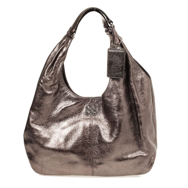 Coach Carly Metallic Hobo Handbag Nextprev Prevnext