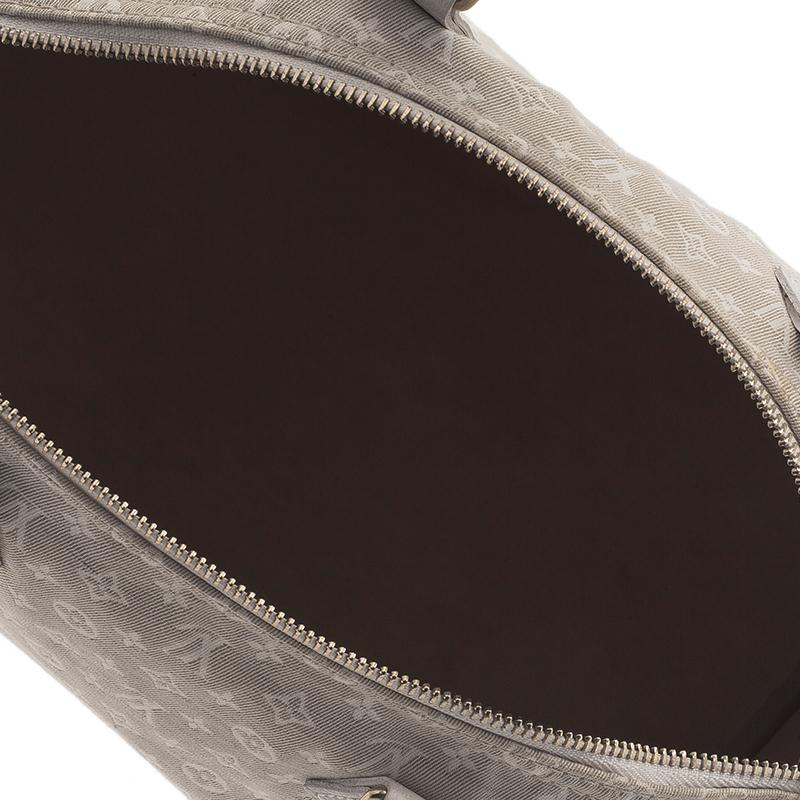 Louis Vuitton Cream Monogram Mini Lin Speedy 30 Bag
