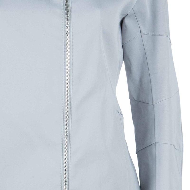 Gucci Gray Zip Front Jacket M
