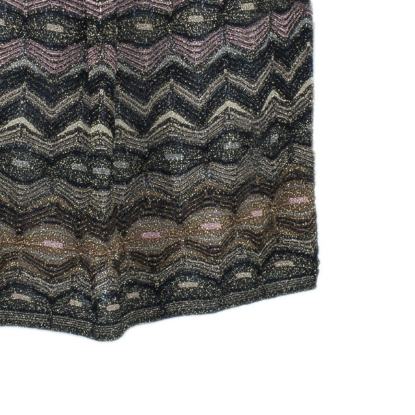 M Missoni Multicolor Metallic Dress S