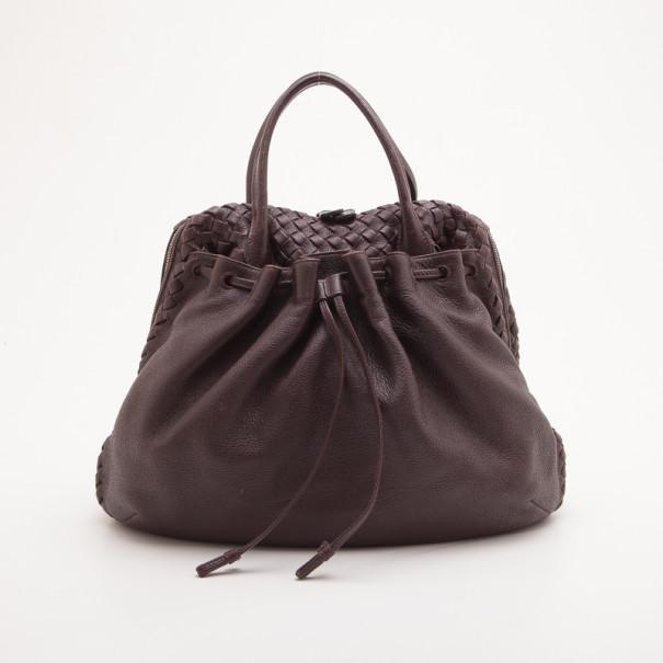 Bottega Veneta Brown Dome Drawstring Bag. nextprev. prevnext sale retailer  7fa38 ... e155e927bc3bf
