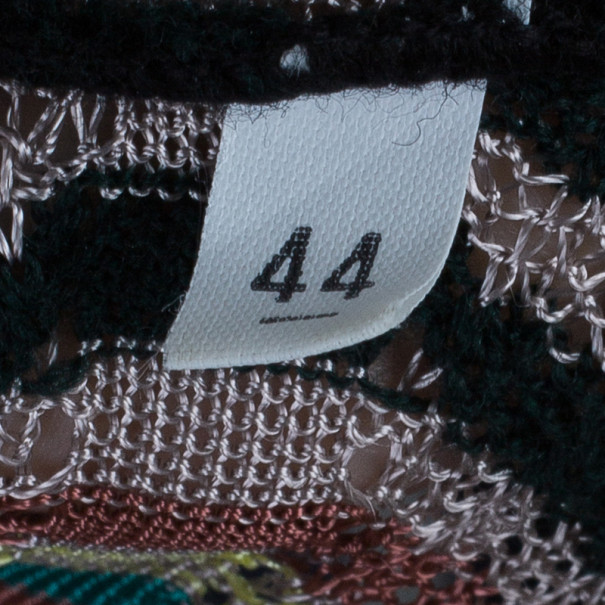 M Missoni Multicolor Knit Top and Cardigan Set M