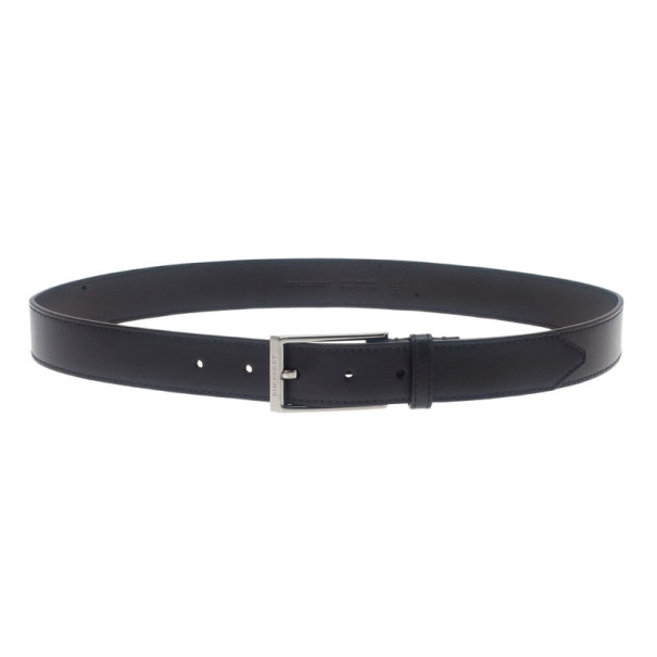Burberry Black Leather Belt 85CM