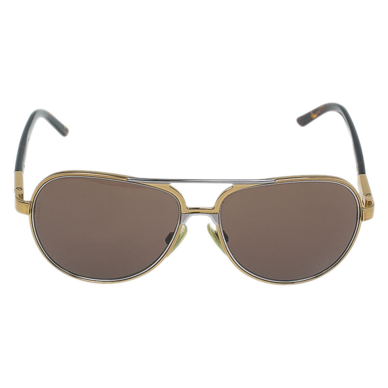 Dolce and Gabbana Gold 2047 Aviators