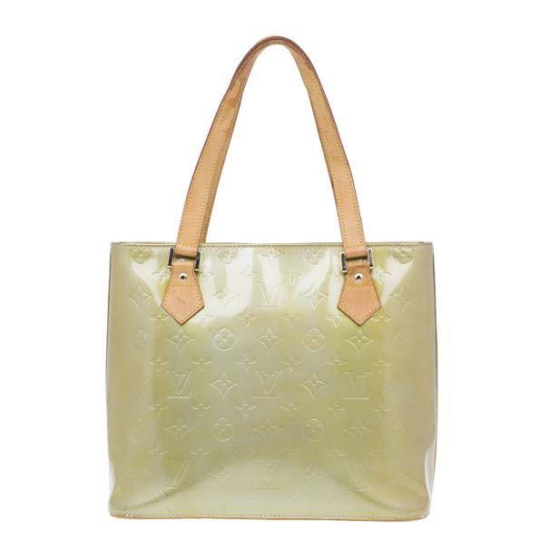 Louis Vuitton Gold Vernis Reade PM
