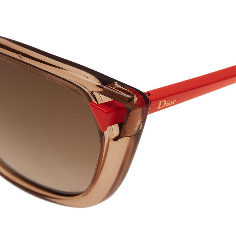 Dior Two Tone Chromatic1 Cat Eye Sunglasses