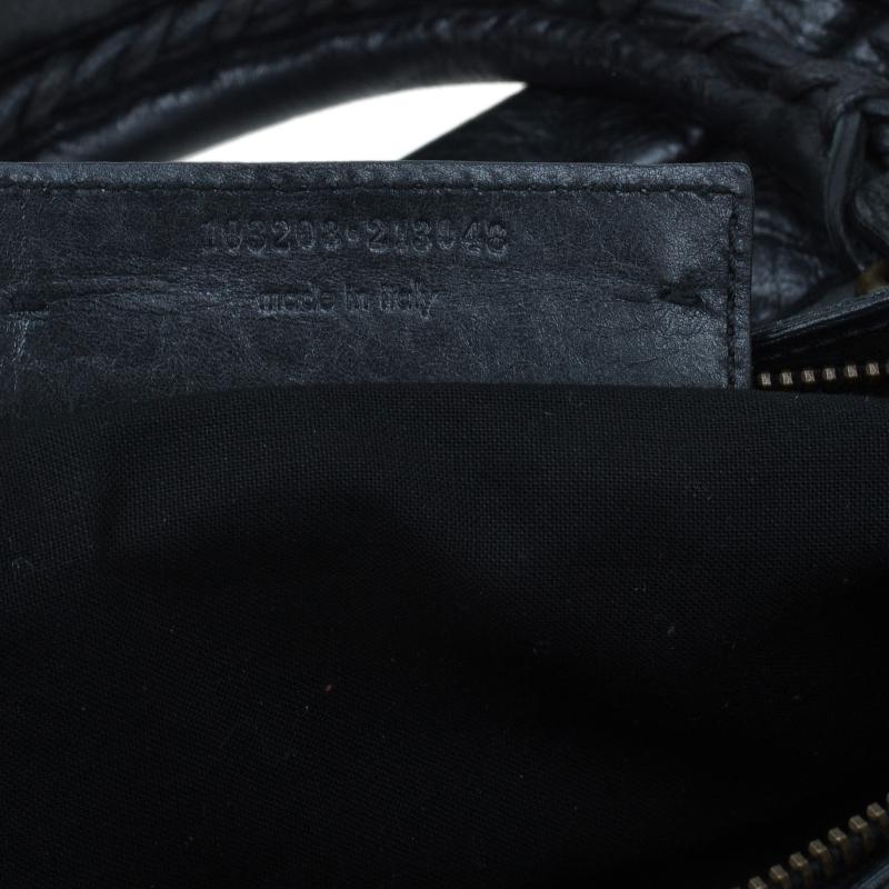 Balenciaga Black Leather First Classic Bag