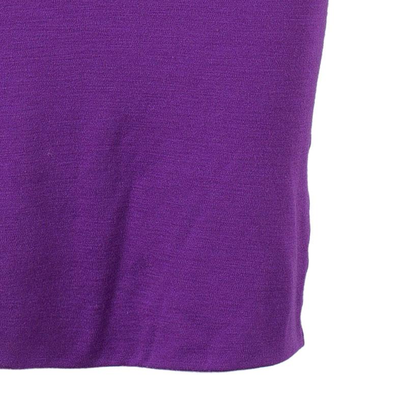 Emilio Pucci Purple Backless Tie-up Dress M