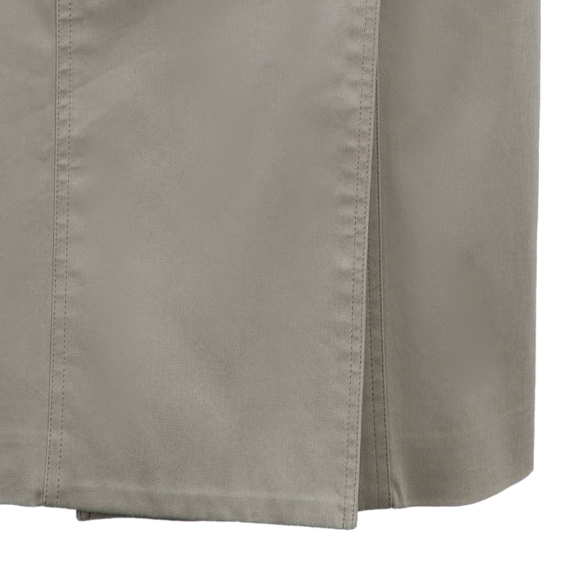 Burberry Beige Button Front Skirt S