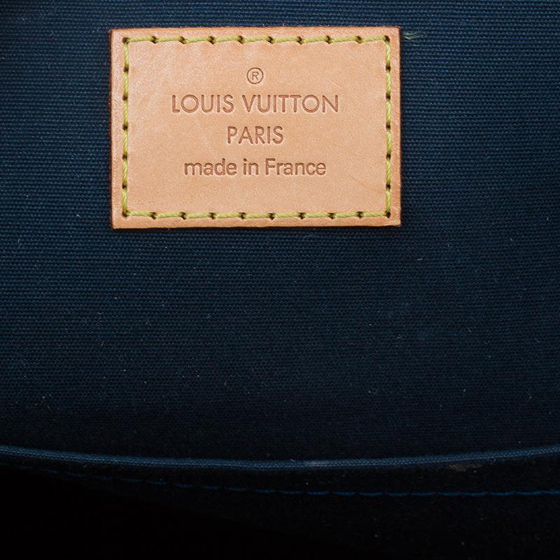 Louis Vuitton Green Monogram Vernis Bellevue Tote GM
