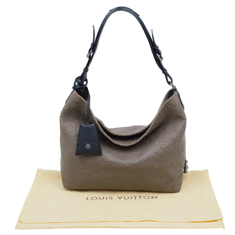 Louis Vuitton Fumee Monogram Antheia Leather Hobo PM Bag