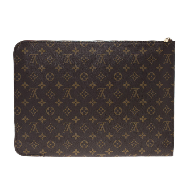 Louis Vuitton Monogram Poche Documents Portfolio Case