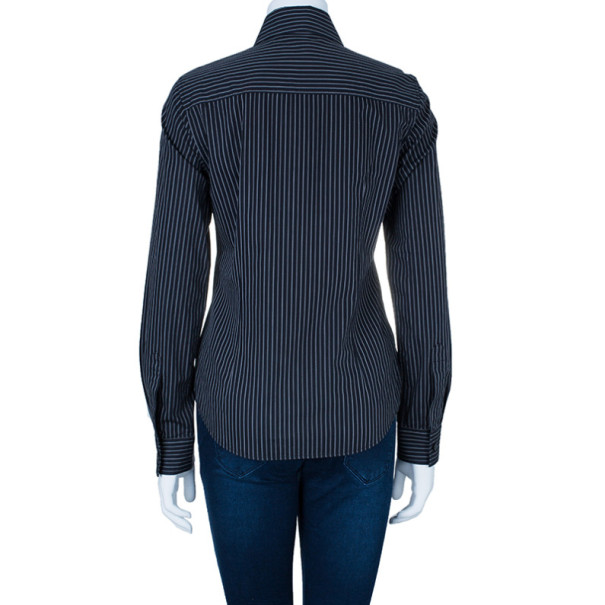 Dolce and Gabbana Striped Formal Shirt S