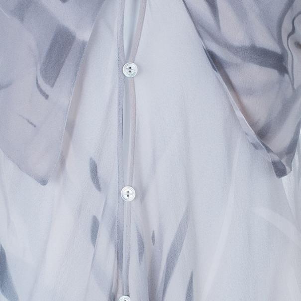 Giorgio Armani Silk Sleeveless Gather Top S