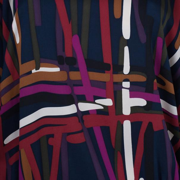Diane Von Furstenberg Dacey Tunic Top M