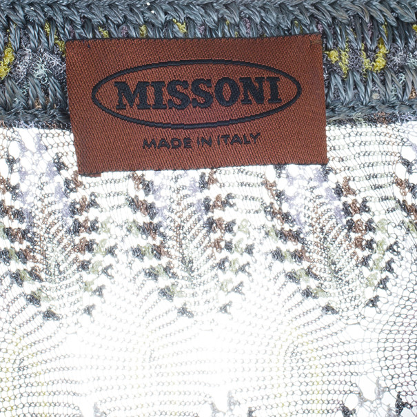 Missoni Long Sleeved Knit Tunic Top S