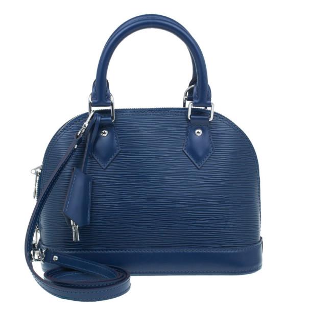Louis Vuitton Indigo Epi Leather Alma BB