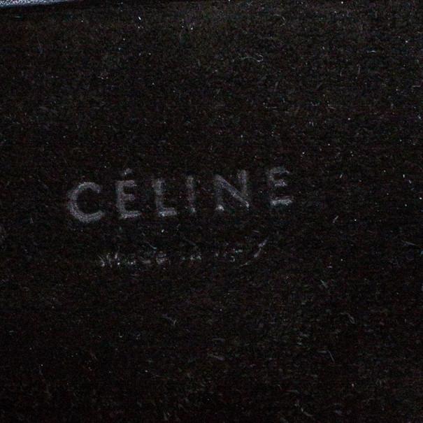 Celine Black Croc Embossed Phantom Bag