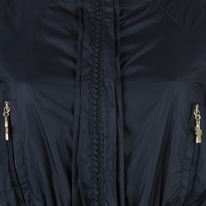 Moncler Gamme Rouge Black Down Jacket S