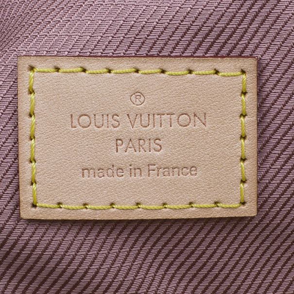 Louis Vuitton Gold Monogram Cowhide Leather Limelight Clutch GM