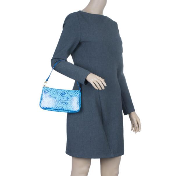 Louis Vuitton Blue Blossom Cosmic Pochette