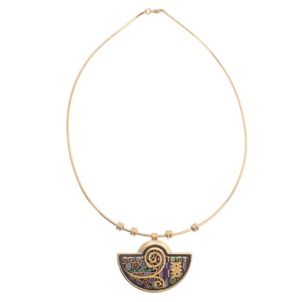 Frey Wille Gold-Plated Multicolor Necklace