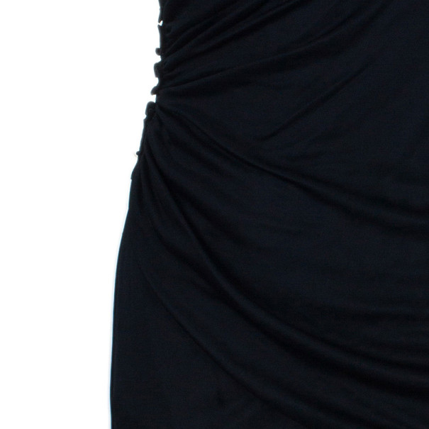 D and G Drape Detail Cocktail Dress M