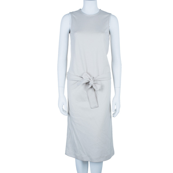 Gucci Wool Low Waist Belted Dress S
