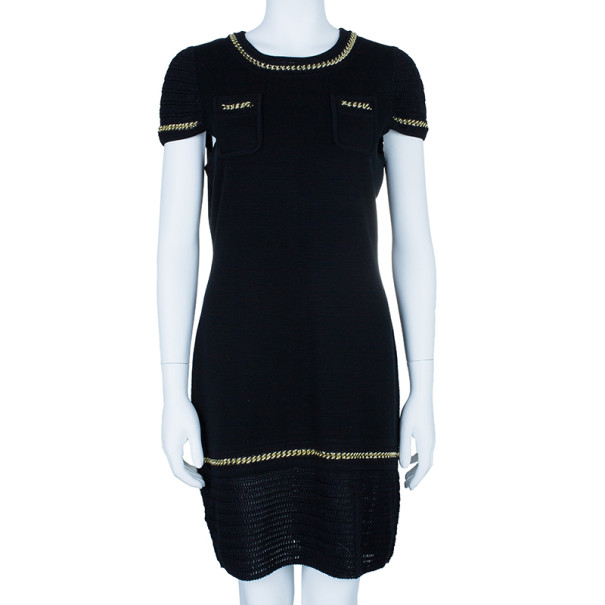 Temperley London Mini Dominica Chain Detail Dress XL