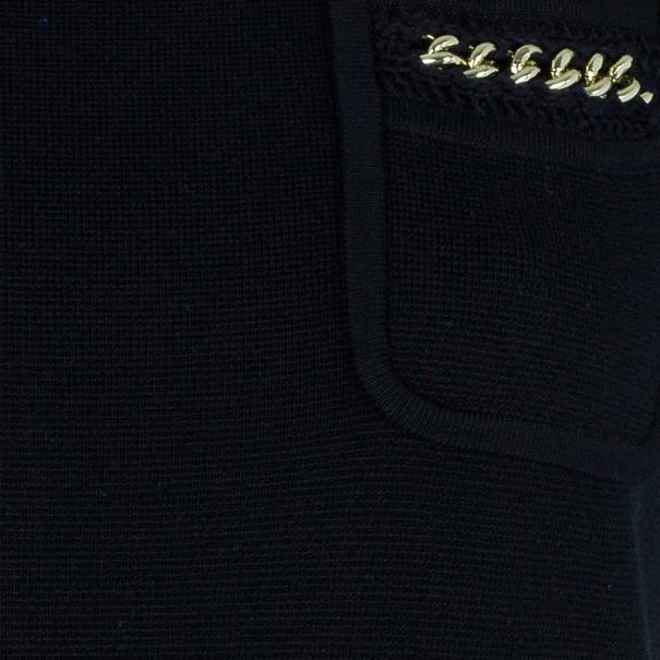 Temperley London Mini Dominica Chain Detail Dress XL