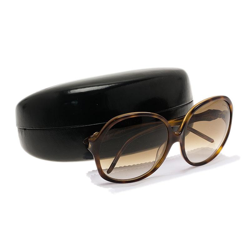 Roberto Cavalli Tortoise Frame Bougainvillea Square Sunglasses