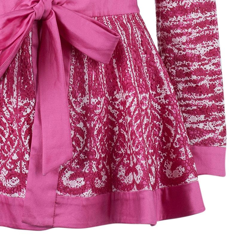 Moschino Ruffle-Collar Lace Jacket M