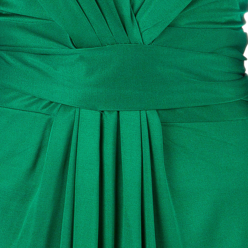 Issa Green Long Sleeve Wrap Dress L