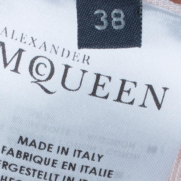 Alexander McQueen Tie-Up Peplum Shirt S