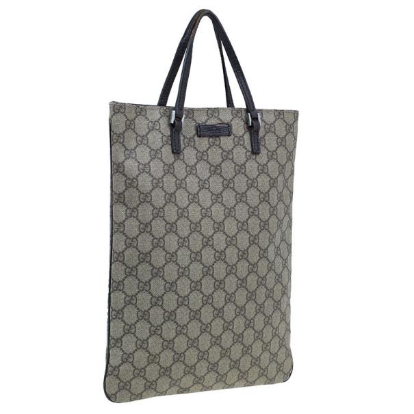 Gucci Brown Canvas Original GG Bag