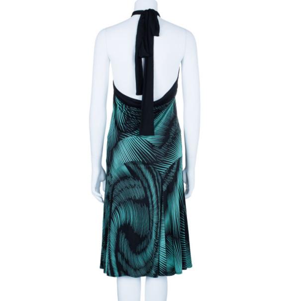 Missoni Printed Halterneck Dress L