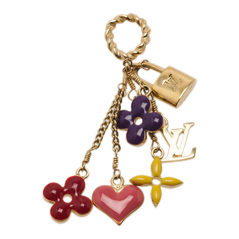 Louis Vuitton Sweet Monogram Charm Pendant
