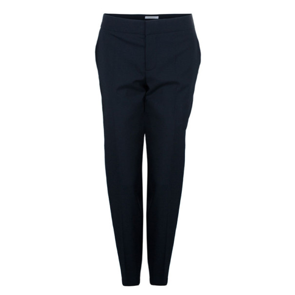 Chloe Black Cady Formal Trousers L