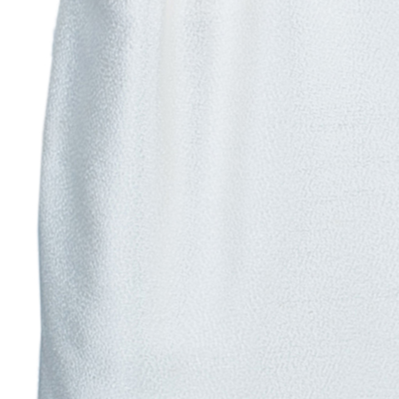 Dolce And Gabbana White Textured Pencil Skirt S